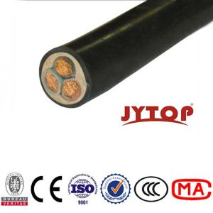 Flat Rubber Cablewith Flexible Copper Conductor pictures & photos