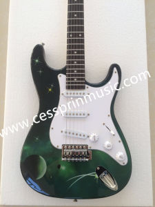 Wholesales /Stickers Electric Guitar/ Lp Guitar /Guitar Supplier/ Manufacturer/Cessprin Music (ST606) pictures & photos