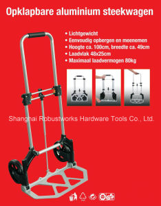 Foldable Aluminium Hand Trolley (HT022-1) pictures & photos