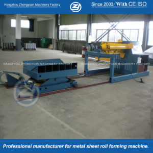 Hydraulic Uncoiler with Coil Car (10tons) pictures & photos