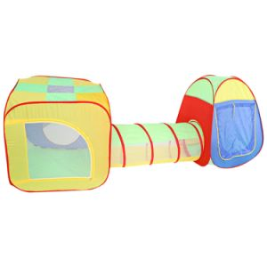 Basic Info  sc 1 st  Yiwu Pinfirst Import u0026 Export Co. Ltd. & China Tunnel Three Pieces Baby Crawling 1-2-3 Years Old Childen Tent ...