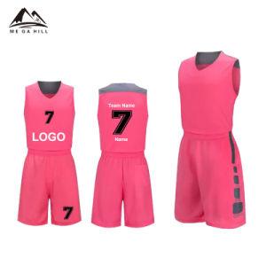 e0fd02b6a3a China Custom Unique Design Pink Color Basketball Jersey - China ...