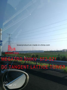 Megatro 500kv 5f2-Sz1 Double Circuit Tangent and Transmission Lattice Tower pictures & photos
