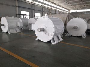 FF-1000kw/100rpm/AC690V Permanent Magnet Generator (clear and renewable energy)