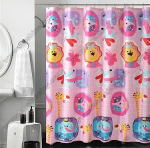 Cartoon Design Shower Curtain pictures & photos