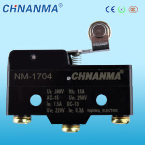 Nm-17 Series Short Hinge Lever Miniature Micro Switch pictures & photos