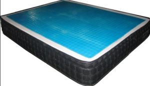 Pocket Spring Mattress with Cooling Gel Topper pictures & photos