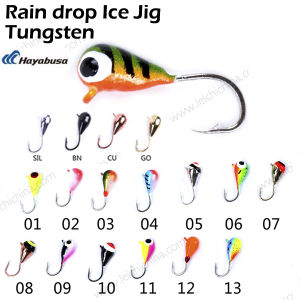 Top Quality Rain Drop Tungsten Ice Jig pictures & photos