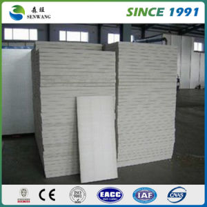 Over 26 Years Experience Corrugated Polyurethane PU Sandwich Panel pictures & photos