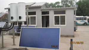 Flat Panel Solar Thermal Collector with Blue Sputtering pictures & photos