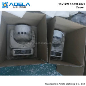 Zoom 19X12W LED Moving Head Beam Wash Light pictures & photos