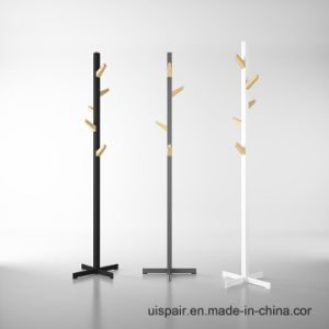 Uispair 100% Steel Tree Shaped-Type Hat and Coat Stand Coat Rack