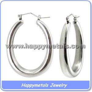 Hoop Earrings in Stainless Steel (E3270)