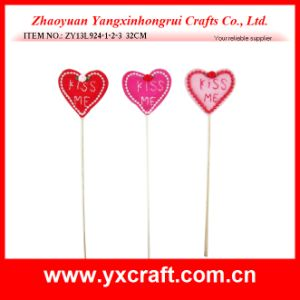 Valentine Decoration (ZY13L924-1-2-3) Heart Shape Love Decoration pictures & photos