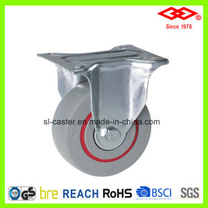 "5"" Swivel Plate with Brake Noise Reduced Casters (P102-51D125X36S) pictures & photos"