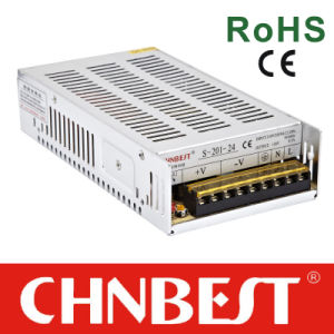 72-144VDC to 20V 10A 200W Power Supply with CE and RoHS (BSD-200D-20) pictures & photos