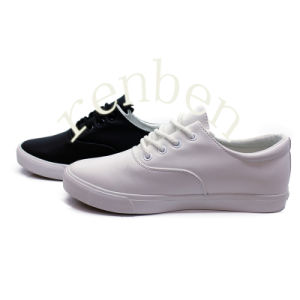 Hot Wholesale Men′s Casual Canvas Shoes pictures & photos