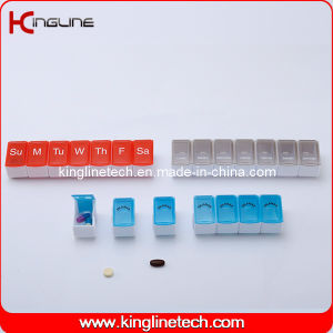 Plastic Detachable Pill Box with 7-Cases (KL-9035) pictures & photos