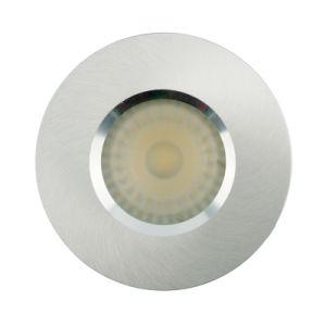 Lathe Aluminum Gu10 Mr16 Round Fixed Recessed Led Bathroom Ceiling Light Lt2900