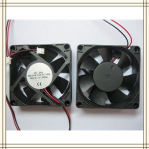 Professional Manufacture/Supplier DC Brushless Fan 12V 7025
