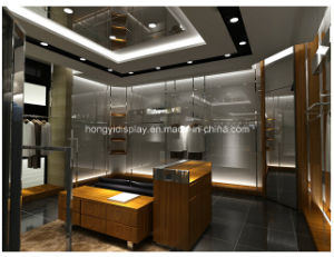 Hight Quality of Custom Design Mens Clothes Shop Decoration pictures & photos