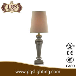 Gary Shade and Body Resin Decorative Lamp (P0083TB)