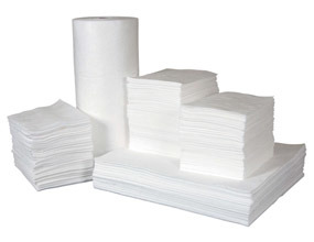 White Oil Only Oil Absorbent Pads