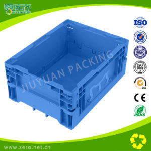Foldable and Stackable Plastic Storage Crate for Nissan Auto