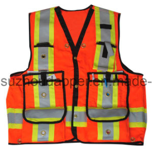 High Visibility Surveyors`S Vest (CAN008)