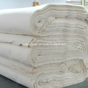 Grey Fabric Woven Cotton Polyester T C