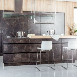 Color Lacquer Finish High Gloss Anti-Scratch Kitchen (zz-028)