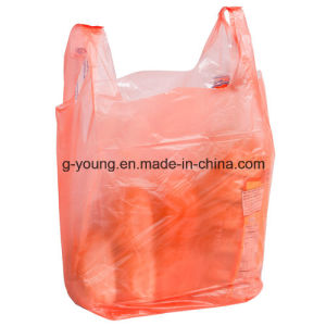 Full Colored Eco-Firendly LDPE T-Shirt Packaging Bag