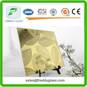 2.5mm-10mm Tinted Mirror/Colored Water Cube Patterned Mirror/Pattern Mirror/Decorate Mirror/Stained Mirror pictures & photos