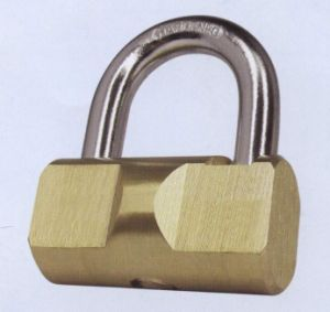 Hammer Brass Padlocks, with High Security Cylinder System pictures & photos
