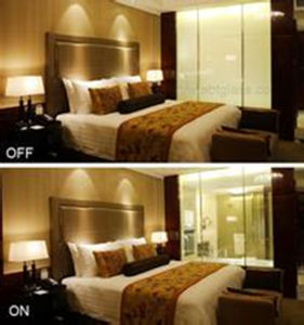 High Transprent Cheap Color Smart Film Glass for Partition pictures & photos