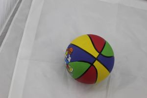 Rubber Basketball with Differnet Color (SG-0384) pictures & photos