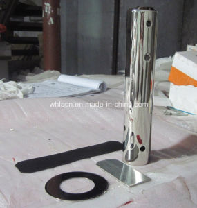 Balustrade Rail Frameless Stainless Steel Glass Clamp Spigots (CNC machining) pictures & photos