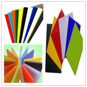 Colorful Plastic Acrylic Sheet