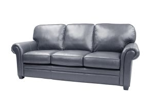 Living Room Furniture Navy Blue Leather Sofa Furniture