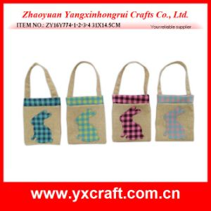 Easter Decoration (ZY16Y774-1-2-3-4) Easter Handbag Decoration Paper Shopping Bag pictures & photos