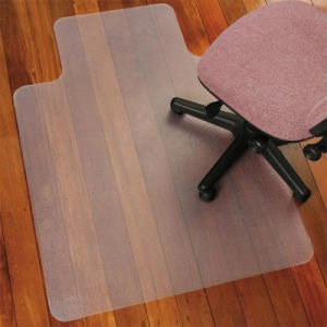 China Office Chair Mat Carpet Floor Protector Pvc Plastic Free