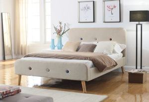 Modern Home Furniture Favorable Fabric Bedroom Bed