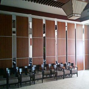 Auditorium Sliding Movable Room Parion Banquet Hall Sound Proofing Folding Screen Dividers