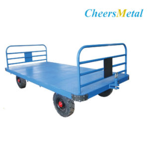 Airport Three-Rail Baggage Cart pictures & photos