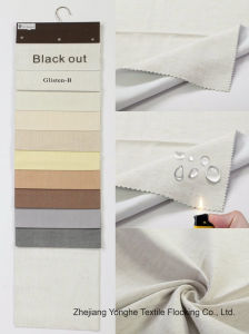 Home Textile Woven Waterproof Fr Curtain Fabric Polyester Blackout Window Curtain Fabric pictures & photos