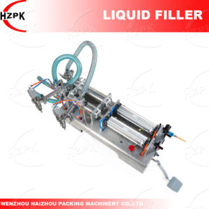 Double Heads Liquid Filling Machine/Water Filling Machine/Liquid Filler pictures & photos