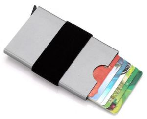 China rfid blocking automatic credit card holder business cards rfid blocking automatic credit card holder business cards holder case protector magic pop up aluminum reheart Images