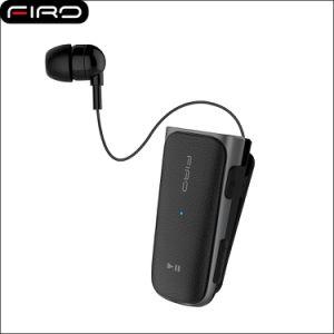 c936e8a9eea CSR4.1 Headphone Handsfree Retractable Earbuds Stereo Wireless Clip Headset  Bluetooth Earphone