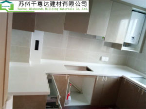 Artificial Stone Counters Solid Surface Kitchen Table Tops Customized Worktop
