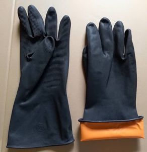 High Quality Sun Nitrile Latex Coated Industrial Hand Gloves